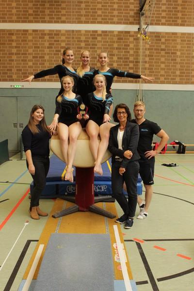 Unsere Turnerinnen der Verbandsliga