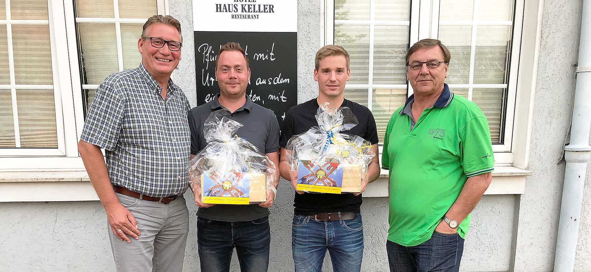 Verabschiedung Raphael Palm und Lars Langenhorst – SV