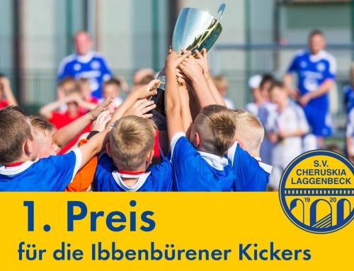 Platz 1 für Ibbenbürener Kickers