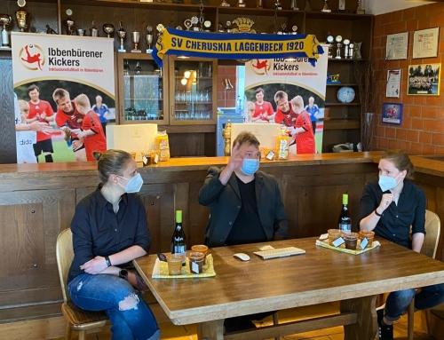 Sepp-Herberger-Urkunden 2021 – Platz 1 für Ibbenbürener Kickers